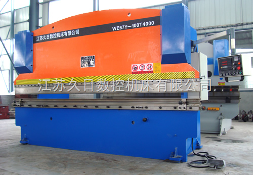 WE67Y-100T/4000液压板料折弯机