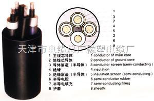 齐全标UCP(MCP)采煤机屏蔽橡套软电缆