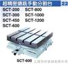 SCT-200/300/450/600/800/1000/1200台湾潭兴精密手动镗铣分割台
