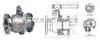 Q41F/H/Y-16C-DN150硬密封手动球阀
