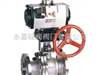 Q641F/H/Y-16P-DN80气动不锈钢球阀
